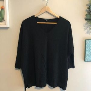 Eileen Fisher Merino Wool Dolman Sweater